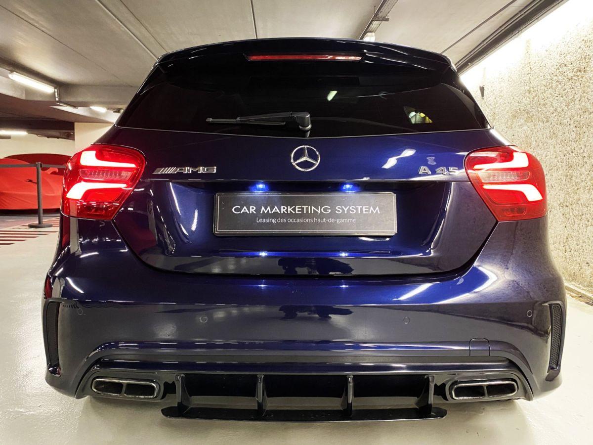 Mercedes Classe A 45 Mercedes-AMG Speedshift DCT 4Matic Bleu Foncé Métallisé - 14