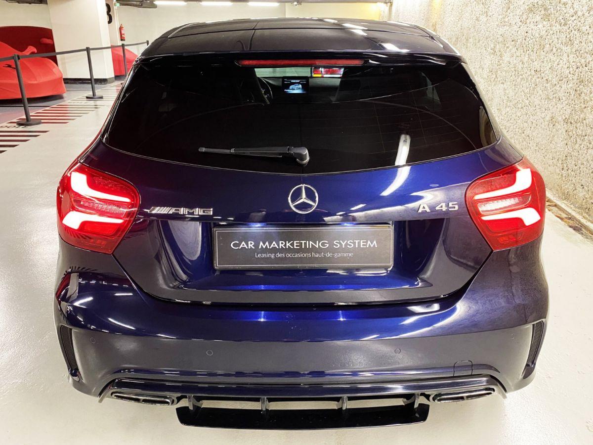 Mercedes Classe A 45 Mercedes-AMG Speedshift DCT 4Matic Bleu Foncé Métallisé - 15