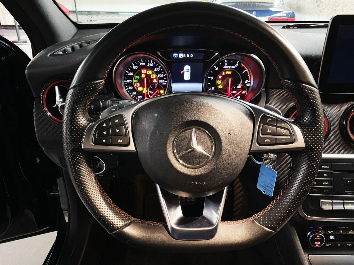 Mercedes Classe A 45 Mercedes-AMG Speedshift DCT 4Matic Bleu Foncé Métallisé - 27