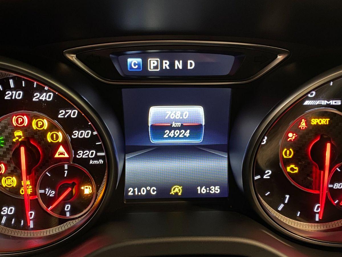 Mercedes Classe A 45 Mercedes-AMG Speedshift DCT 4Matic Bleu Foncé Métallisé - 35