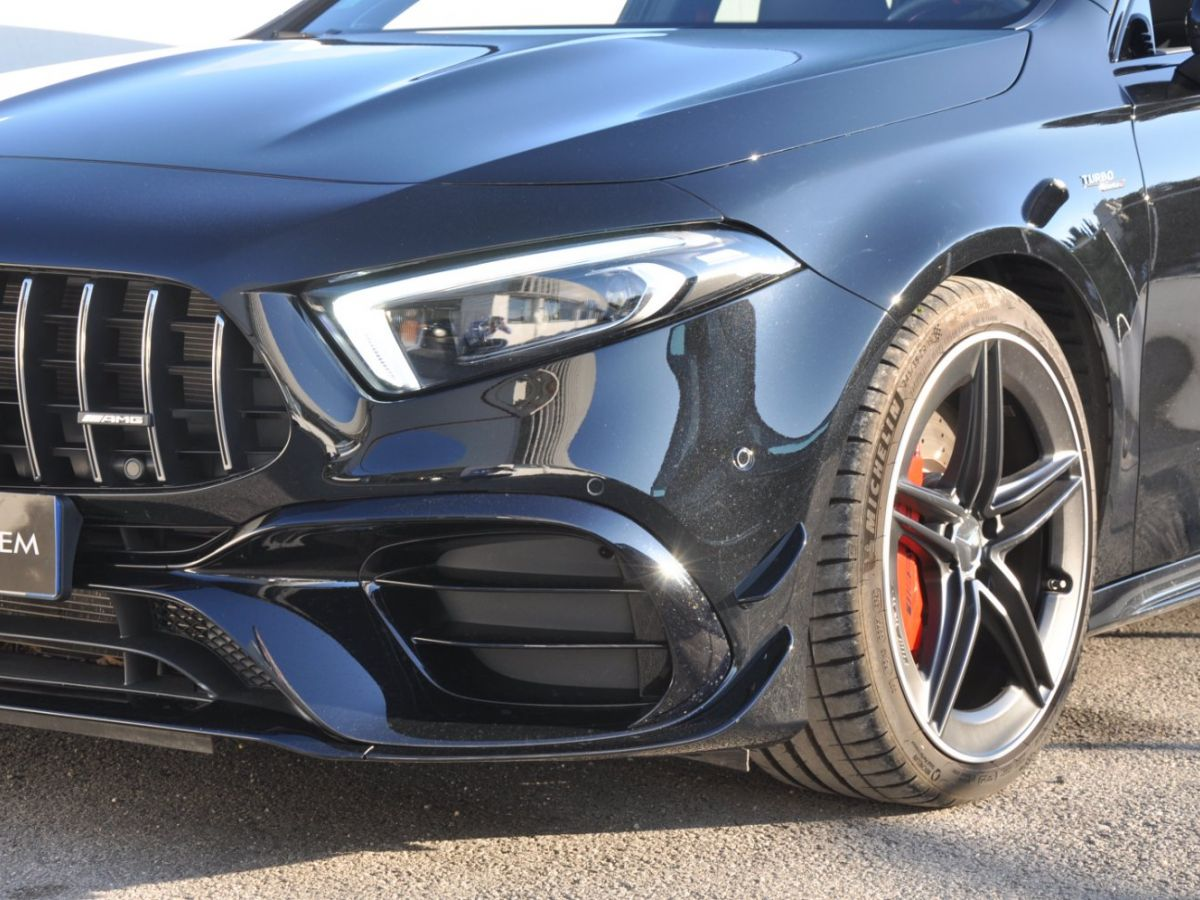 Mercedes Classe A 45 S 8G-DCT Speedshift AMG 4Matic+ Noir - 4