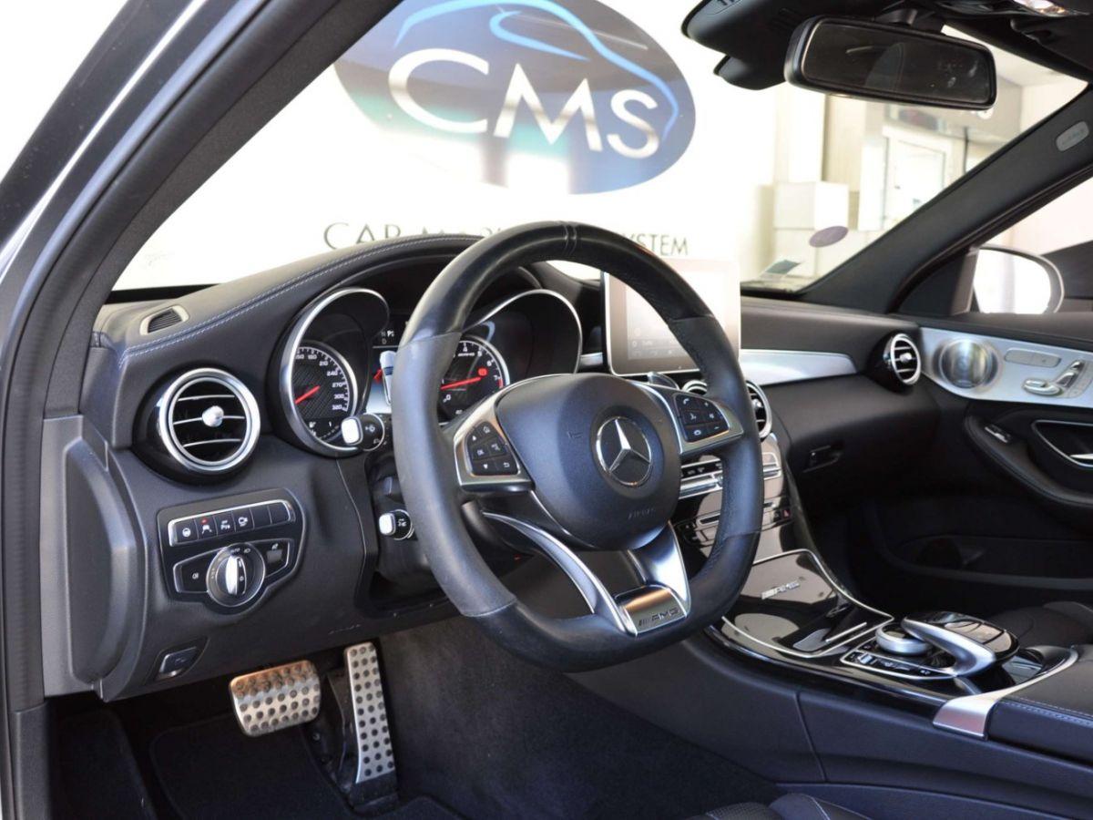Mercedes Classe C 63 AMG SW Gris Foncé - 9