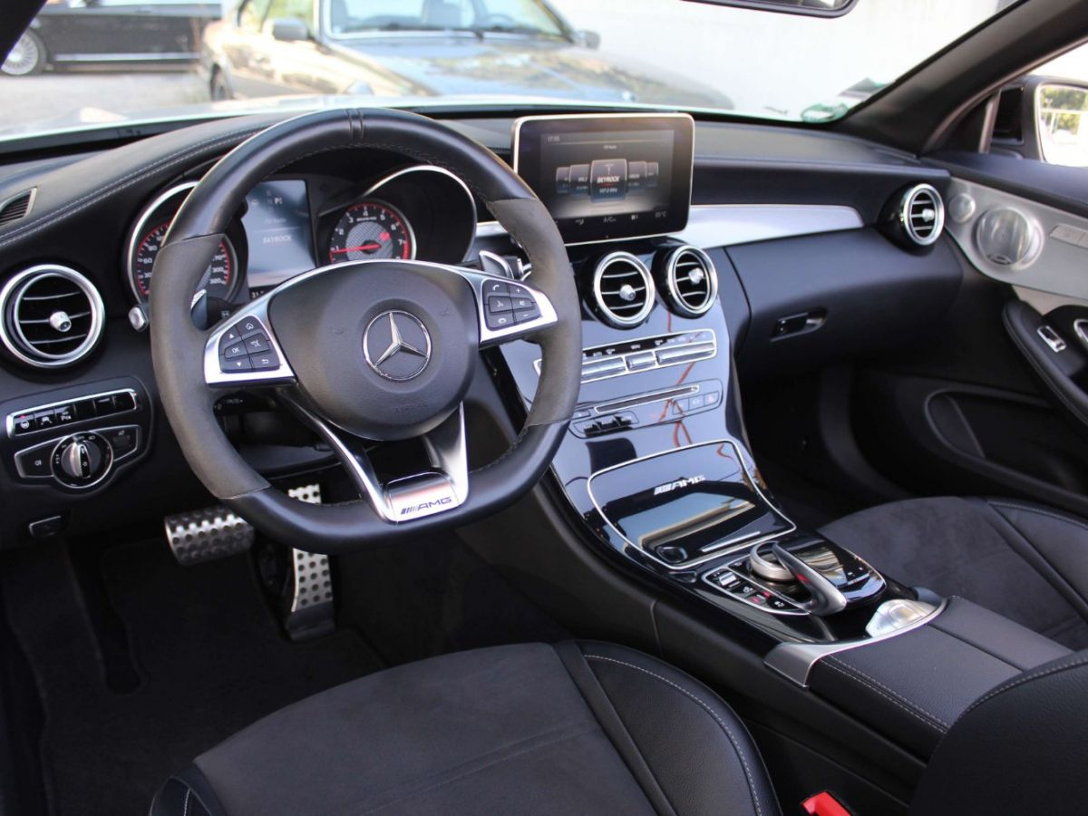 Mercedes Classe C 63 S AMG Blanc - 8