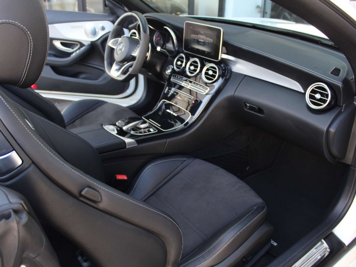 Mercedes Classe C 63 S AMG Blanc - 11