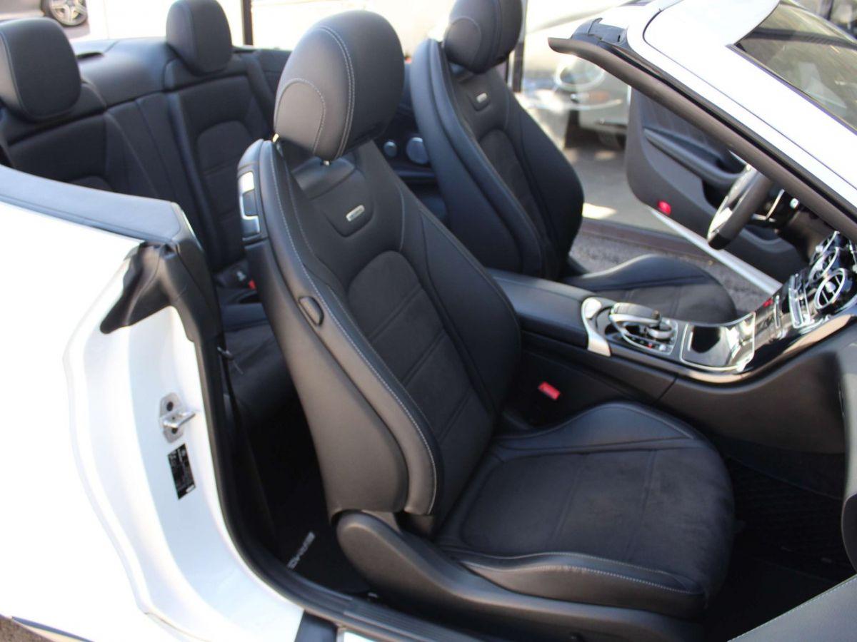 Mercedes Classe C 63 S AMG Blanc - 12