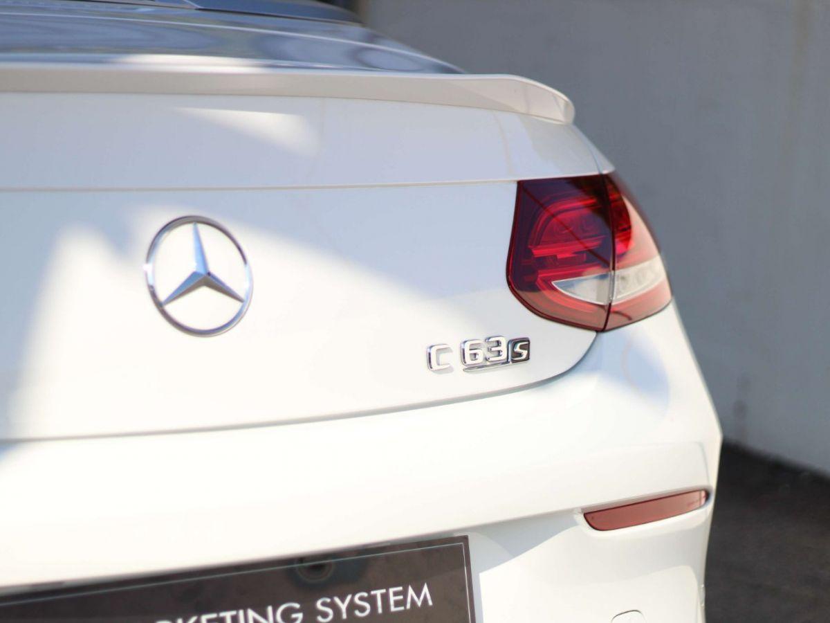 Mercedes Classe C 63 S AMG Blanc - 23
