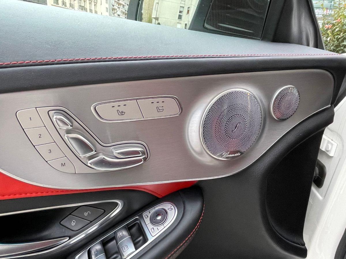 Mercedes Classe C IV (2) CABRIOLET AMG 63 S Blanc Métallisé - 14