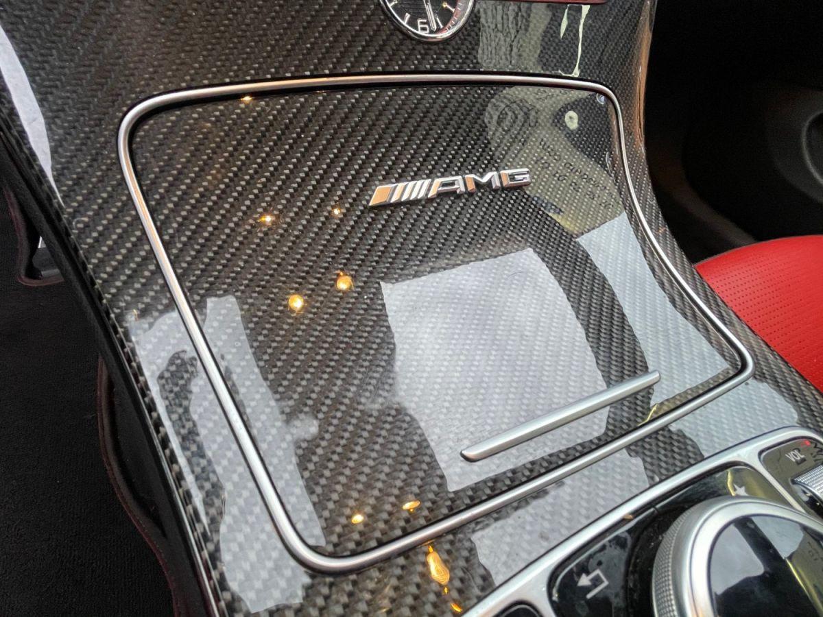 Mercedes Classe C IV (2) CABRIOLET AMG 63 S Blanc Métallisé - 23