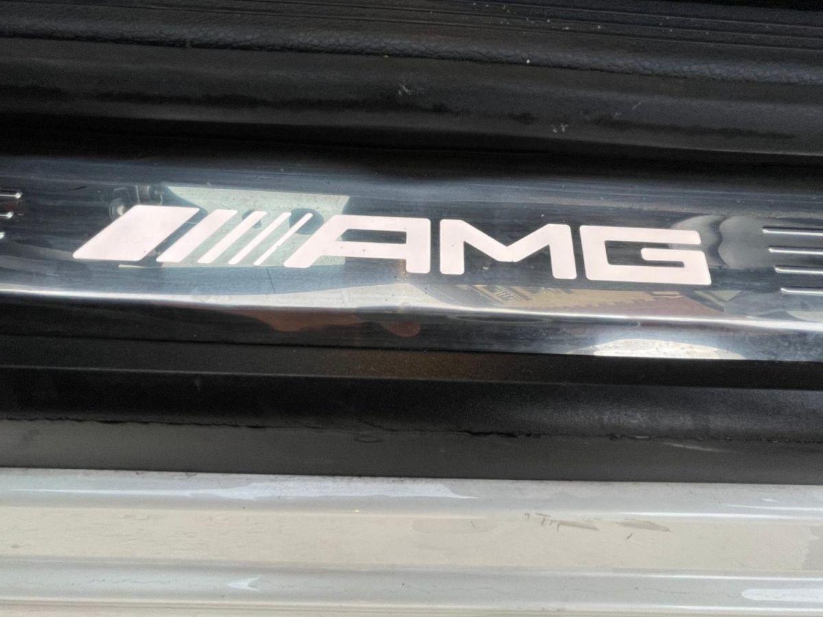 Mercedes Classe C IV (2) CABRIOLET AMG 63 S Blanc Métallisé - 26