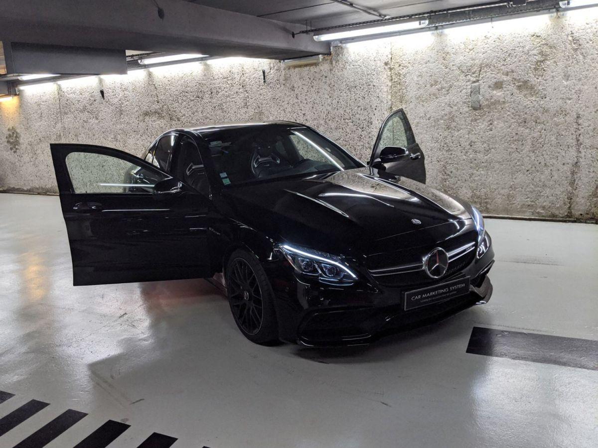 Mercedes Classe C IV 63 AMG BVA7 Noir Métallisé - 13