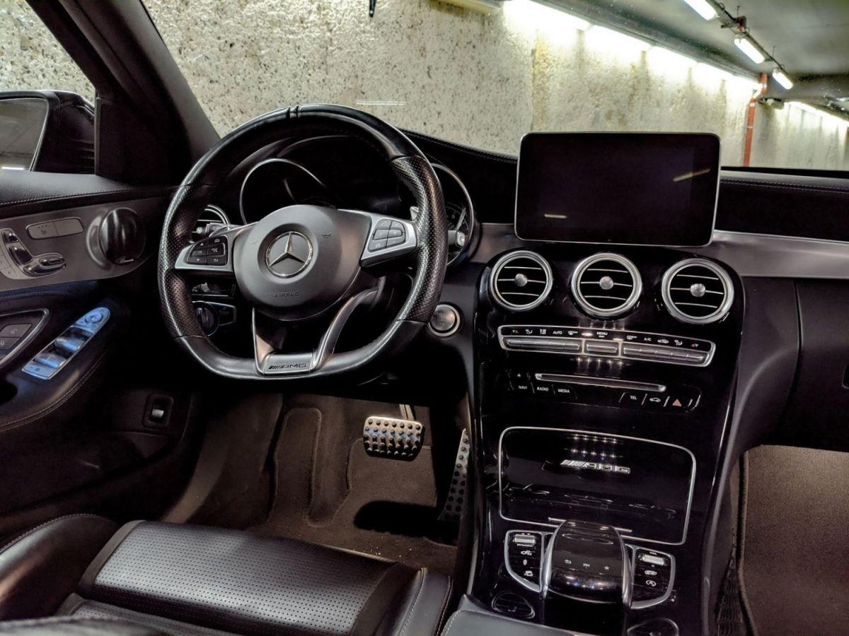 Mercedes Classe C IV 63 AMG BVA7 Noir Métallisé - 17