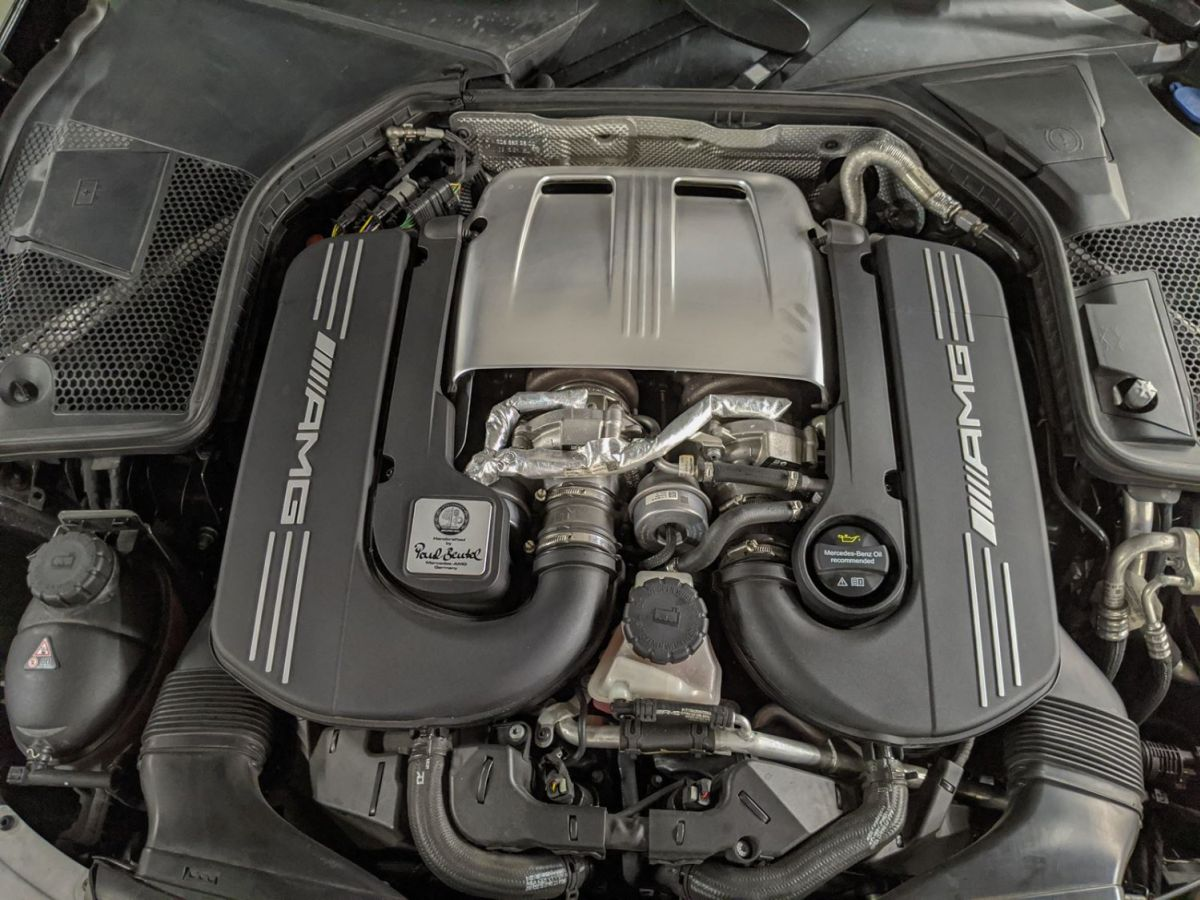 Mercedes Classe C IV 63 AMG BVA7 Noir Métallisé - 33