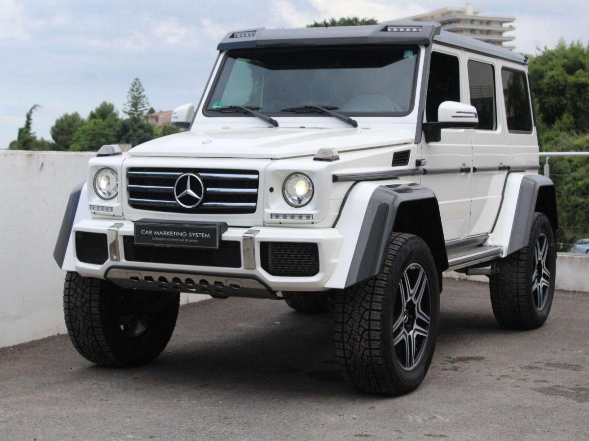 Mercedes Classe G G500 V8 4X4² Blanc - 1