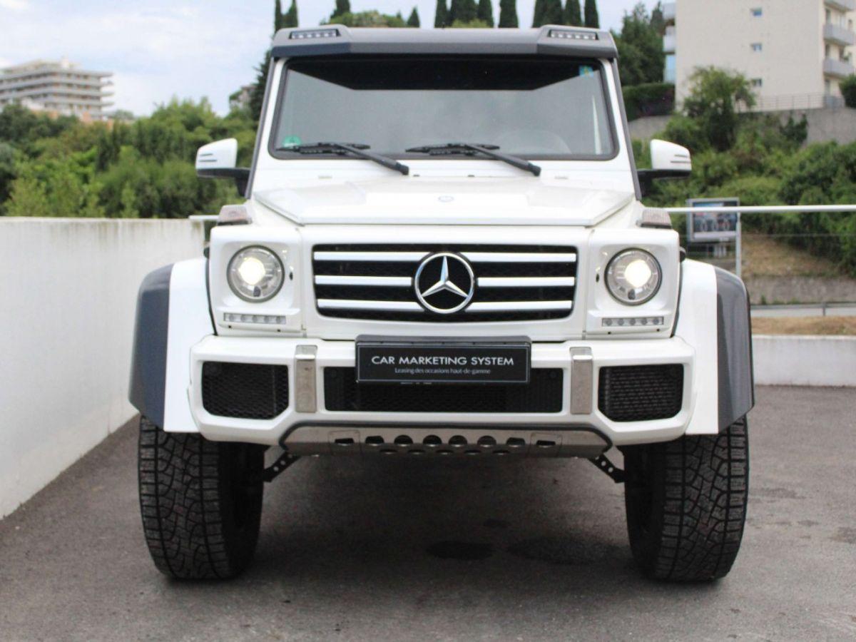 Mercedes Classe G G500 V8 4X4² Blanc - 2