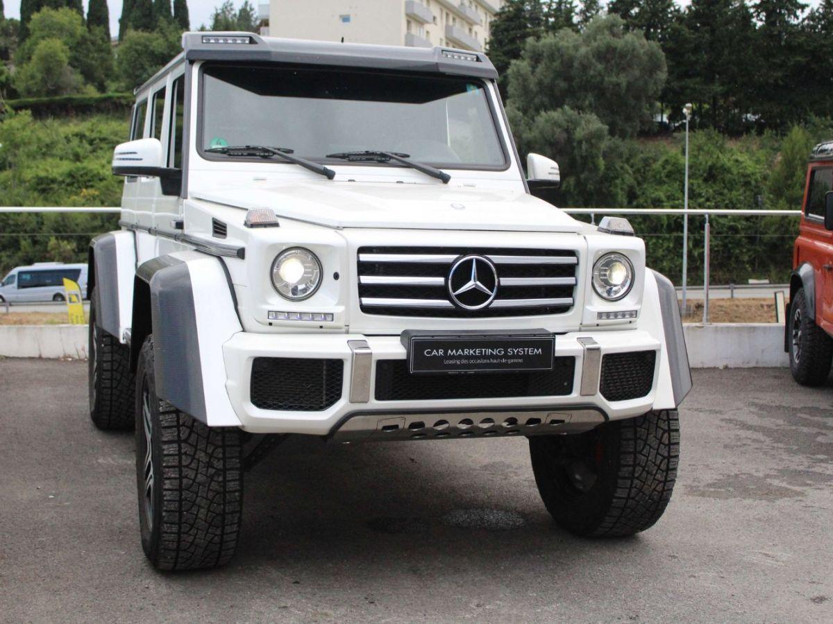 Mercedes Classe G G500 V8 4X4² Blanc - 3