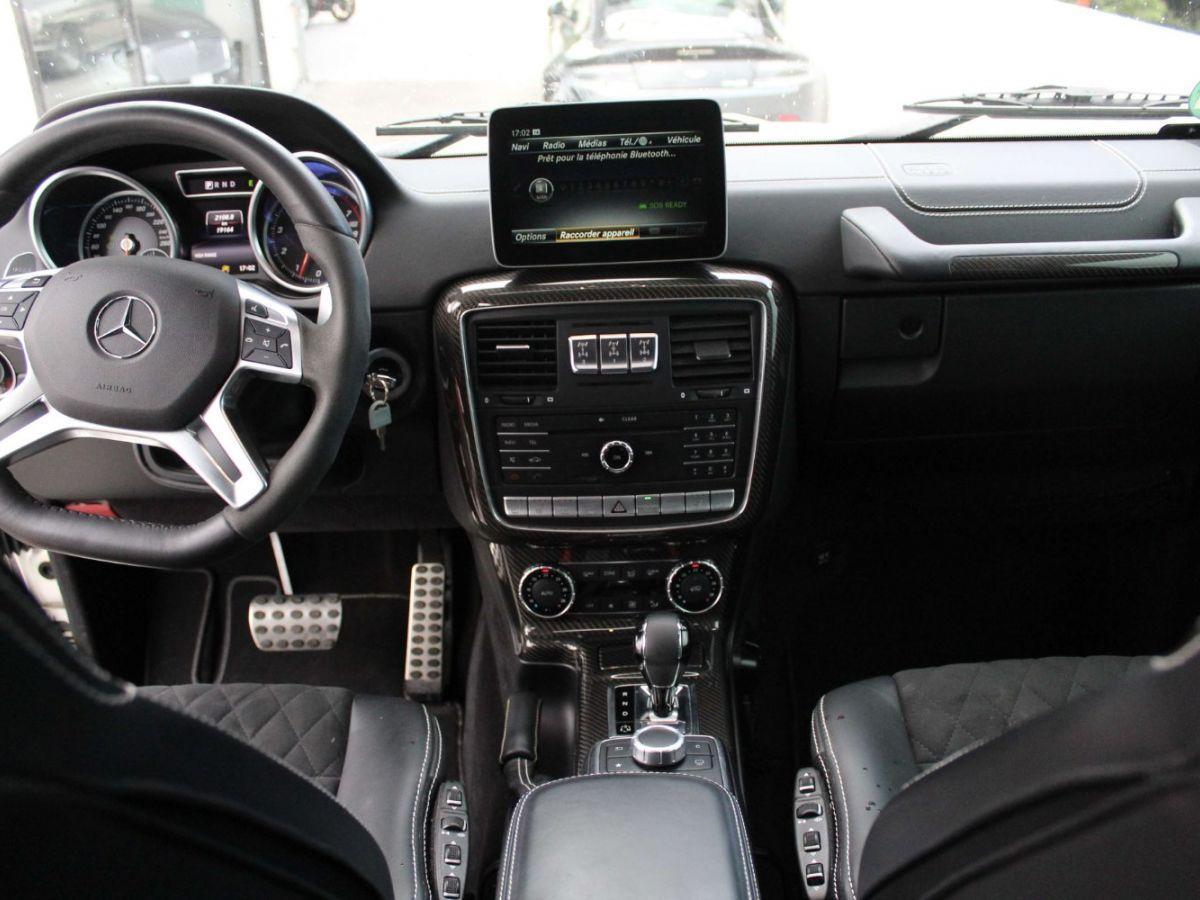 Mercedes Classe G G500 V8 4X4² Blanc - 10