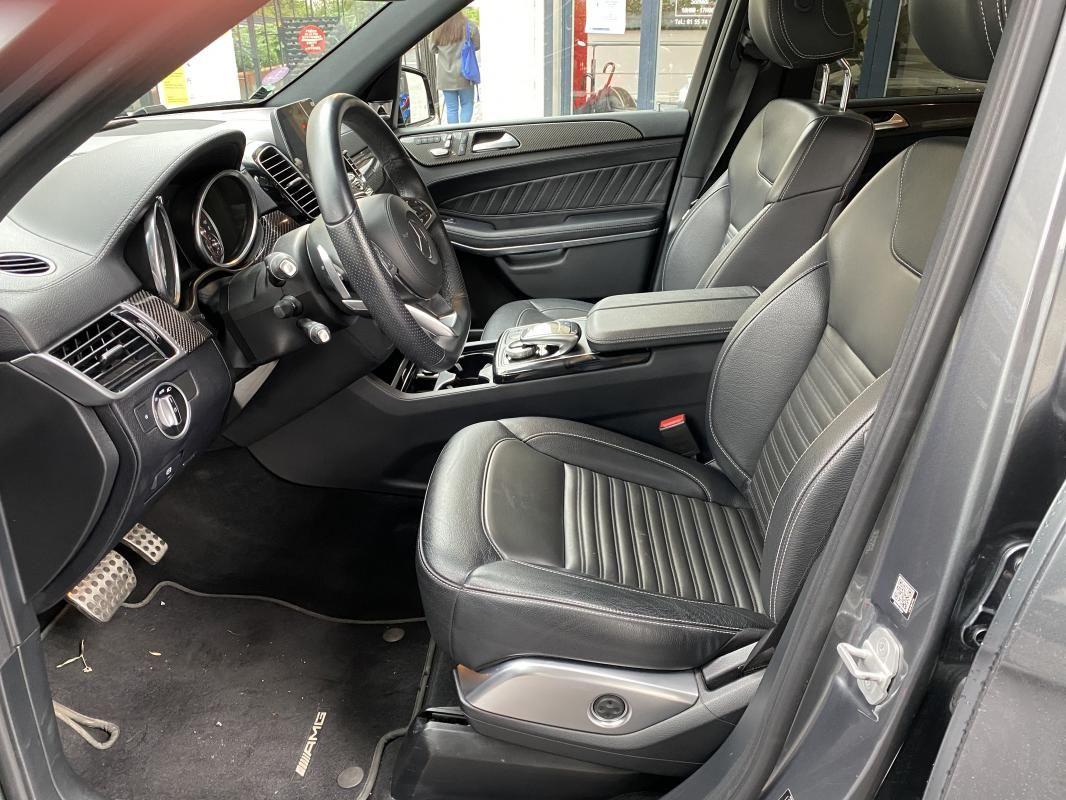 Mercedes Classe GL GLS 500 9G-Tronic 4Matic Executive Gris Foncé Métallisé - 11