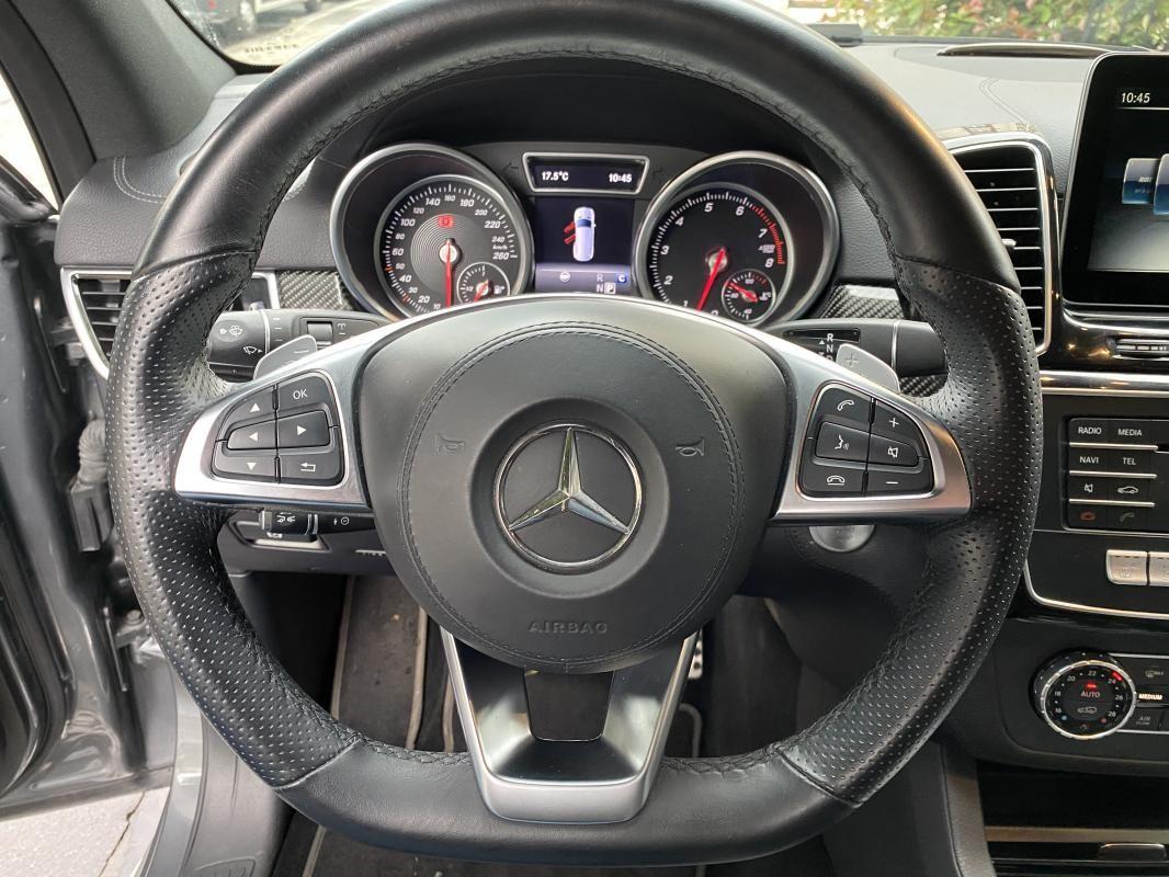 Mercedes Classe GL GLS 500 9G-Tronic 4Matic Executive Gris Foncé Métallisé - 12