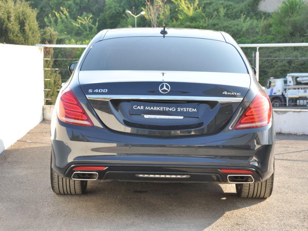 Mercedes Classe S 400 EXECUTIVE 4-MATIC Gris Foncé - 6