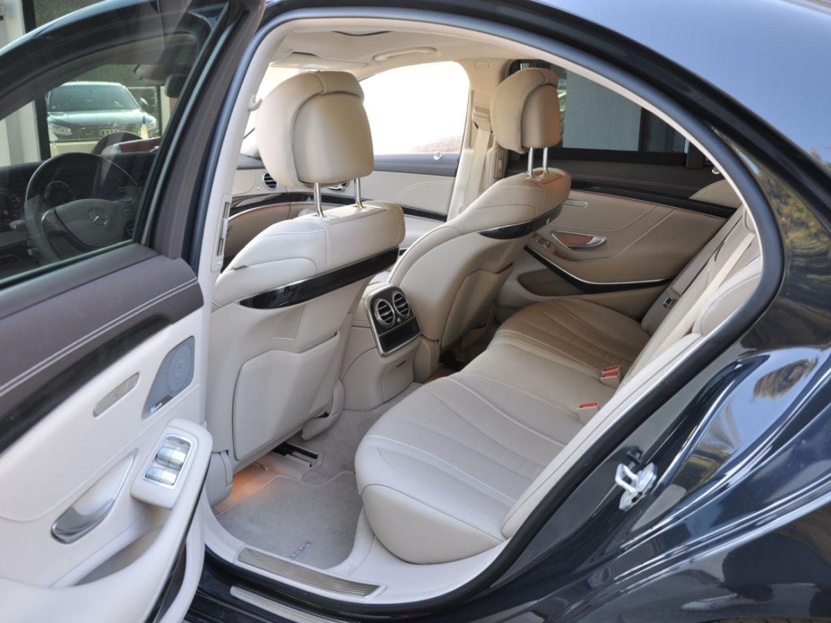 Mercedes Classe S 400 EXECUTIVE 4-MATIC Gris Foncé - 10