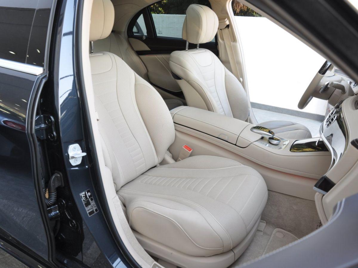 Mercedes Classe S 400 EXECUTIVE 4-MATIC Gris Foncé - 16