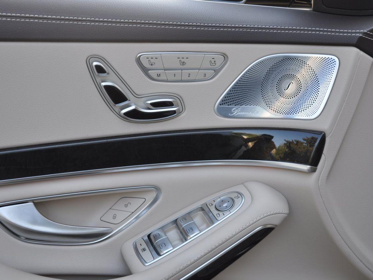 Mercedes Classe S 400 EXECUTIVE 4-MATIC Gris Foncé - 18