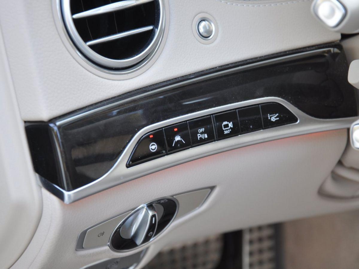 Mercedes Classe S 400 EXECUTIVE 4-MATIC Gris Foncé - 19