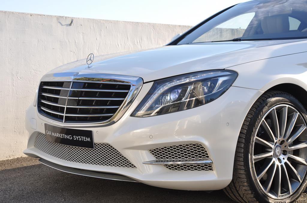 Mercedes Classe S 500 L EXECUTIVE 4 MATIC Blanc Métallisé - 3