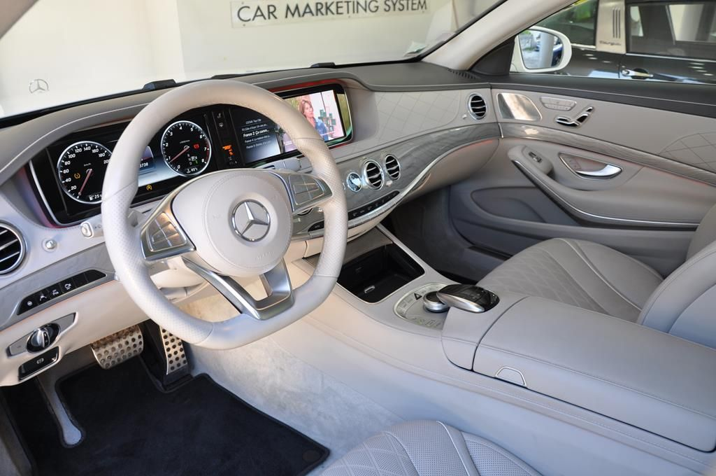 Mercedes Classe S 500 L EXECUTIVE 4 MATIC Blanc Métallisé - 7