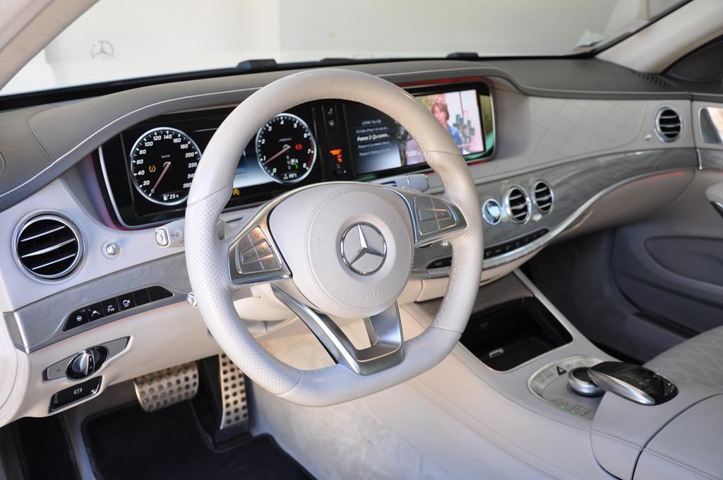 Mercedes Classe S 500 L EXECUTIVE 4 MATIC Blanc Métallisé - 8