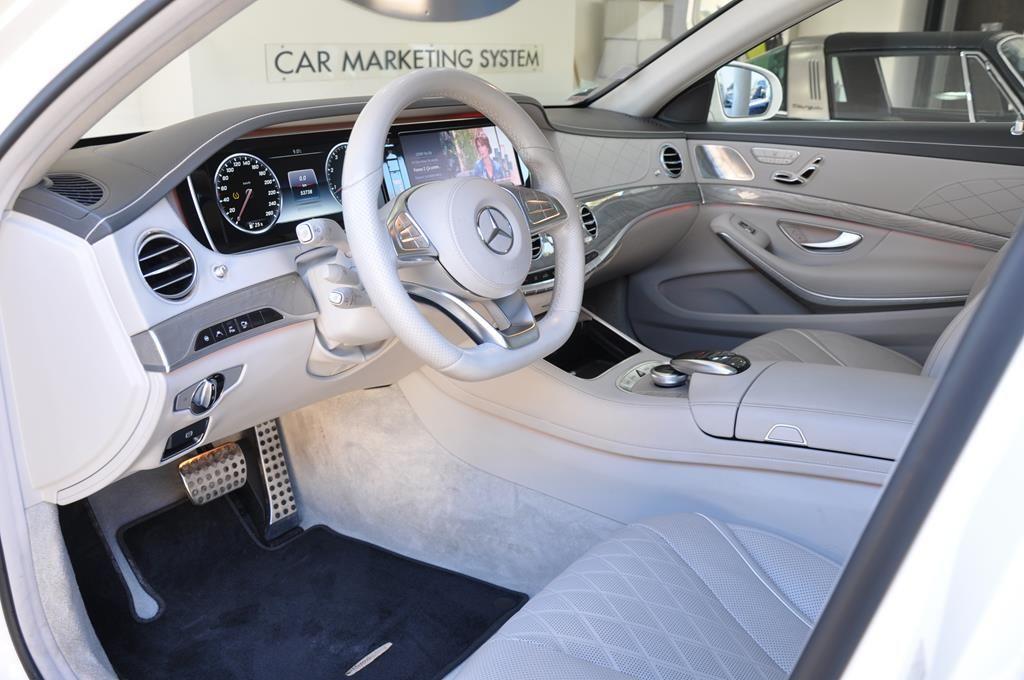 Mercedes Classe S 500 L EXECUTIVE 4 MATIC Blanc Métallisé - 9