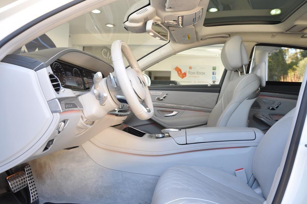 Mercedes Classe S 500 L EXECUTIVE 4 MATIC Blanc Métallisé - 10