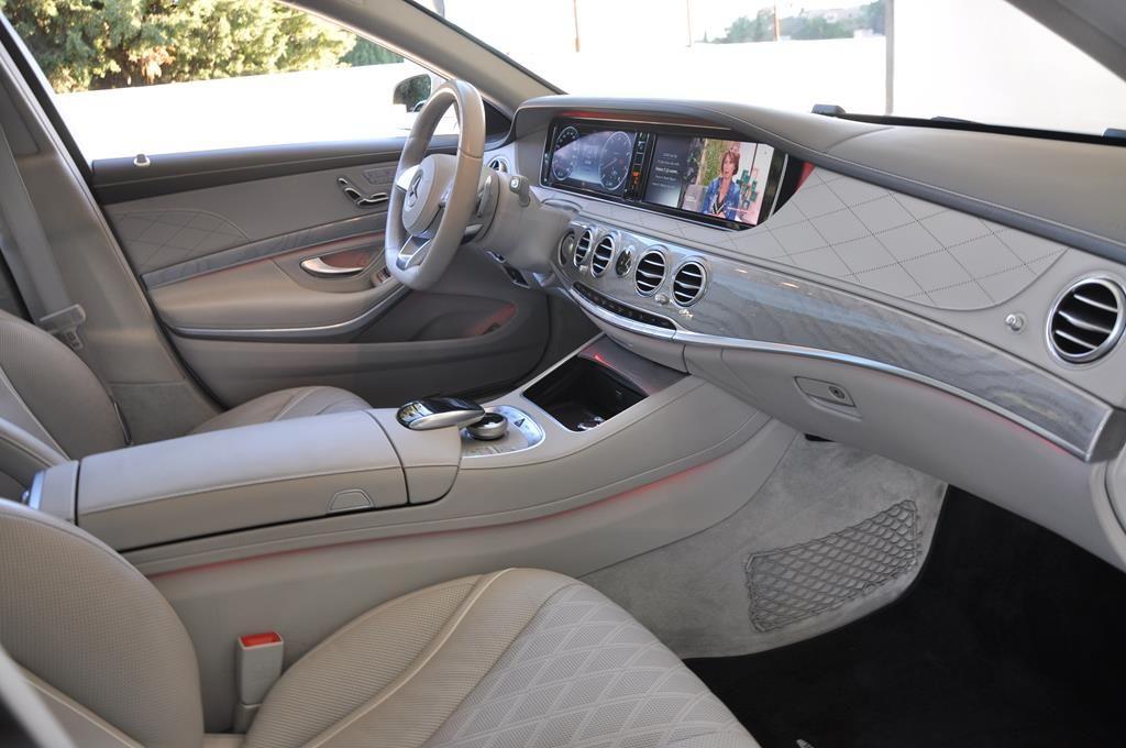Mercedes Classe S 500 L EXECUTIVE 4 MATIC Blanc Métallisé - 18