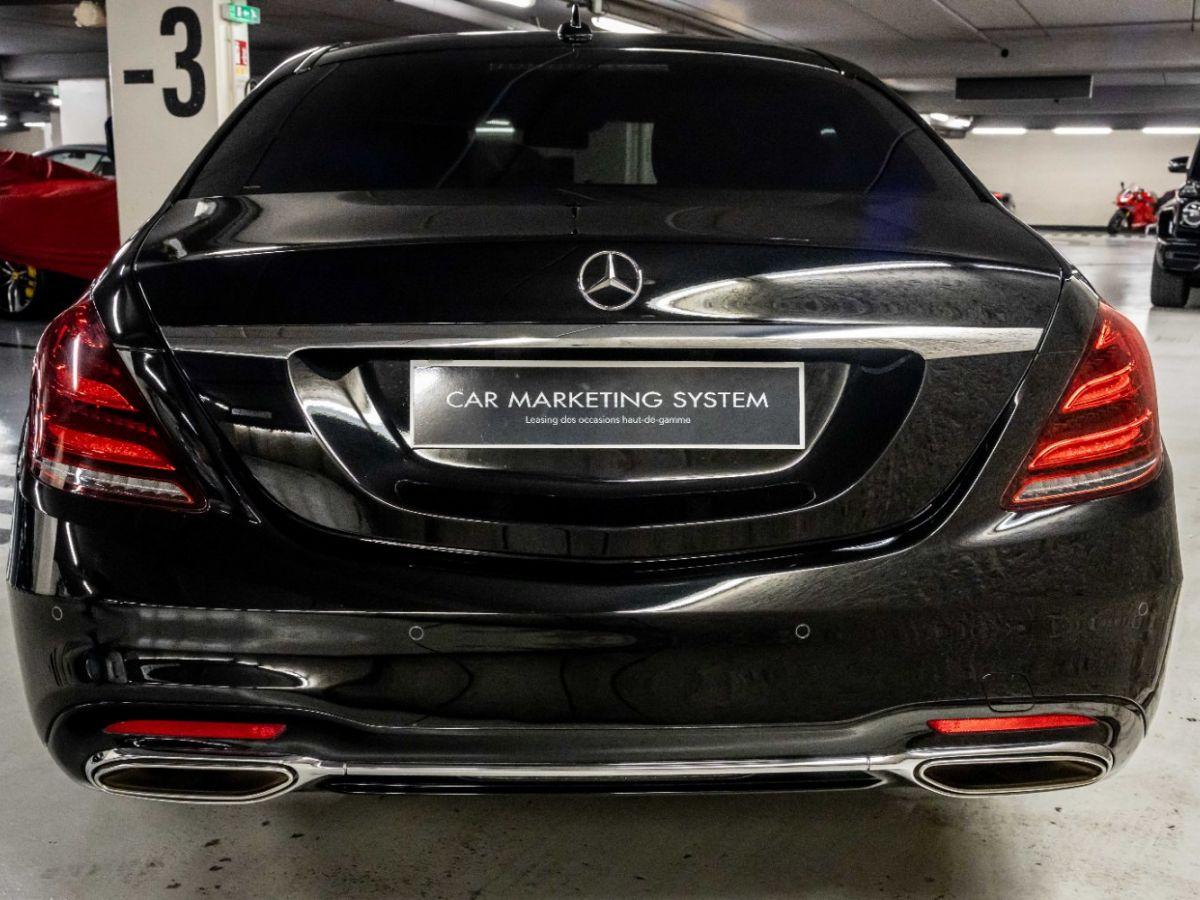 Mercedes Classe S VII (2) 560 FASCINATION 4MATIC 9G-TRONIC Noir Métallisé - 5