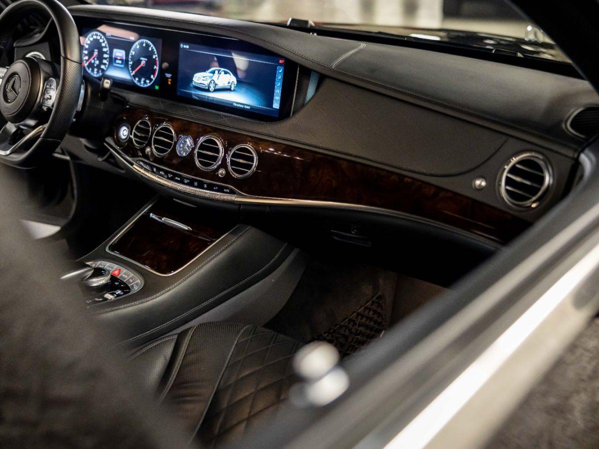 Mercedes Classe S VII (2) 560 FASCINATION 4MATIC 9G-TRONIC Noir Métallisé - 10