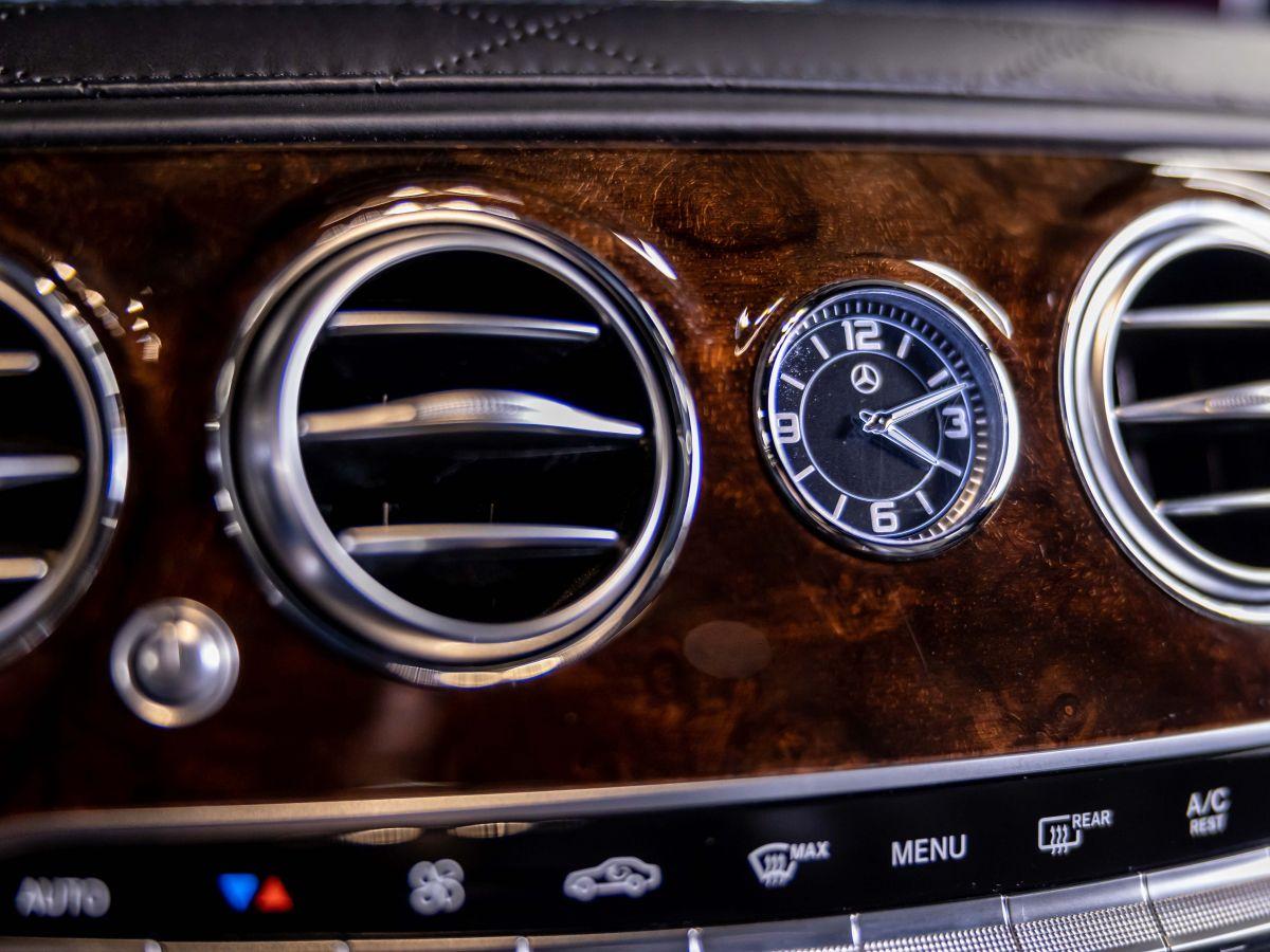 Mercedes Classe S VII (2) 560 FASCINATION 4MATIC 9G-TRONIC Noir Métallisé - 14