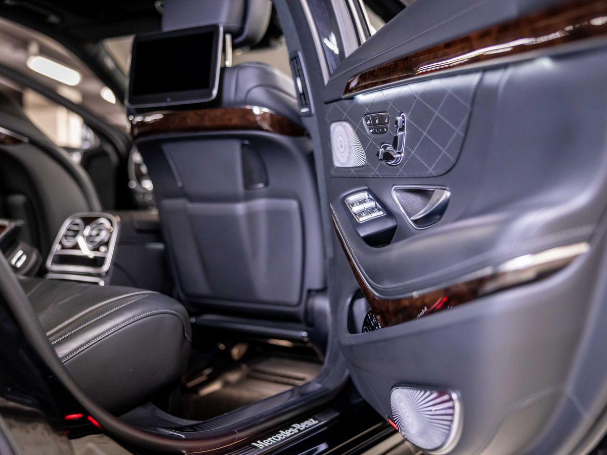 Mercedes Classe S VII (2) 560 FASCINATION 4MATIC 9G-TRONIC Noir Métallisé - 16