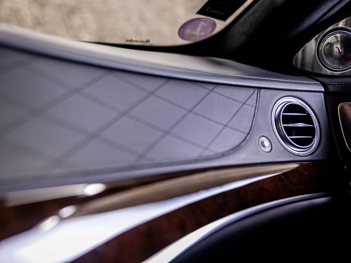 Mercedes Classe S VII (2) 560 FASCINATION 4MATIC 9G-TRONIC Noir Métallisé - 20