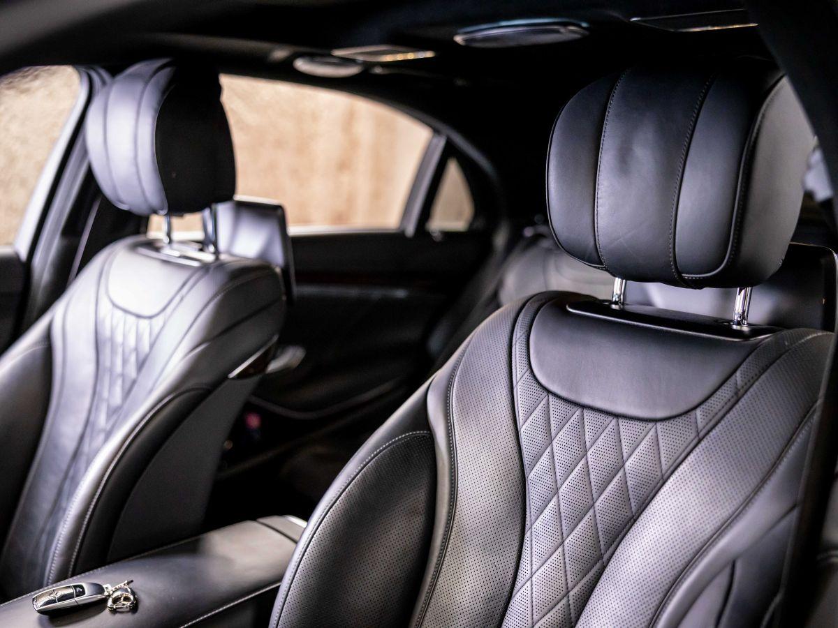 Mercedes Classe S VII (2) 560 FASCINATION 4MATIC 9G-TRONIC Noir Métallisé - 22