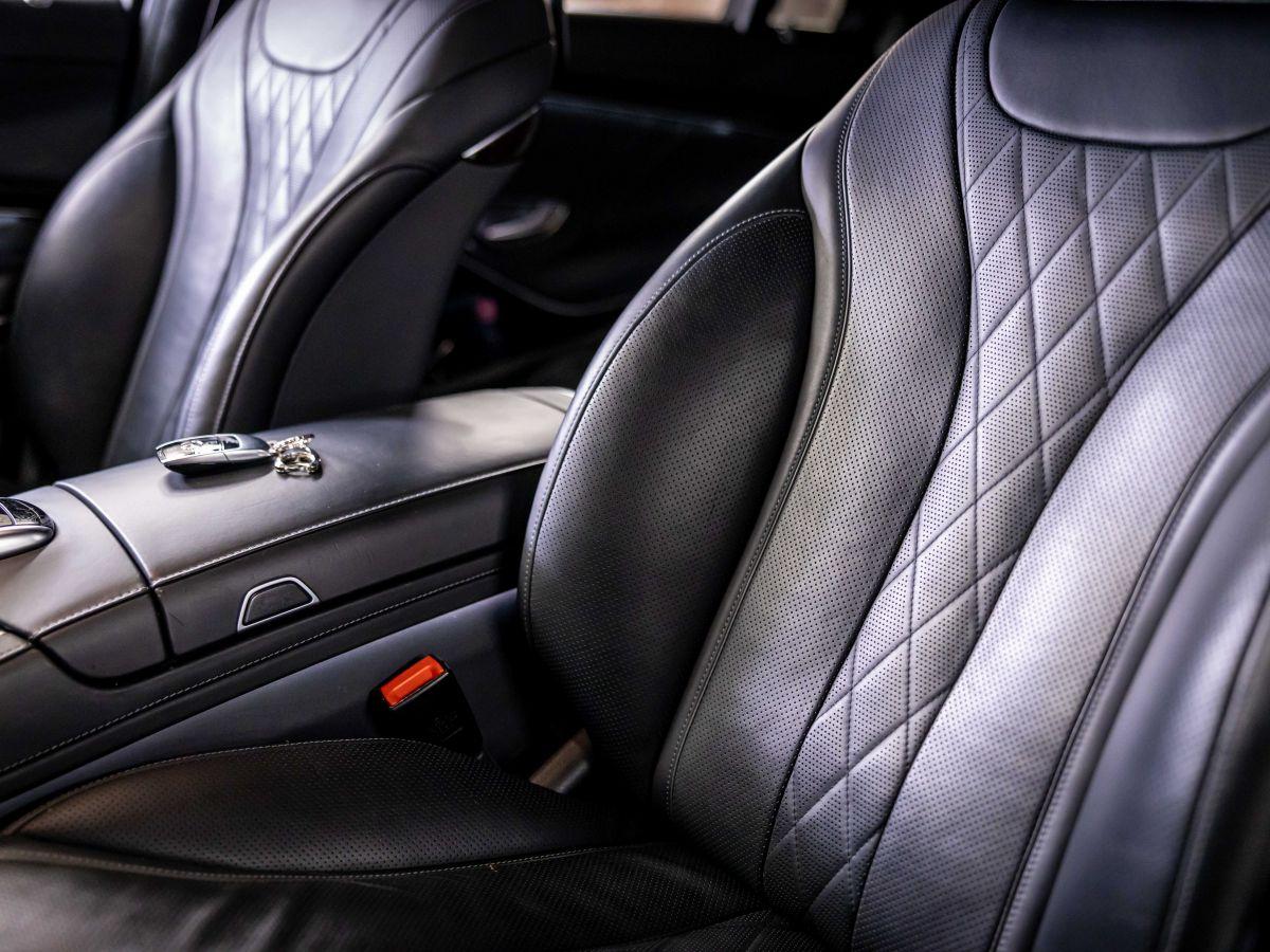 Mercedes Classe S VII (2) 560 FASCINATION 4MATIC 9G-TRONIC Noir Métallisé - 23