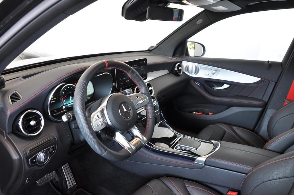 Mercedes GLC 43 AMG 9G-Tronic 4 Matic Noir Métal - 11