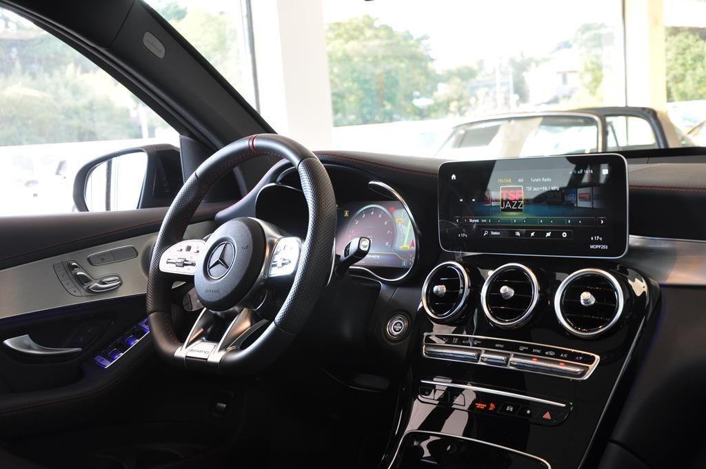 Mercedes GLC 43 AMG 9G-Tronic 4 Matic Noir Métal - 17