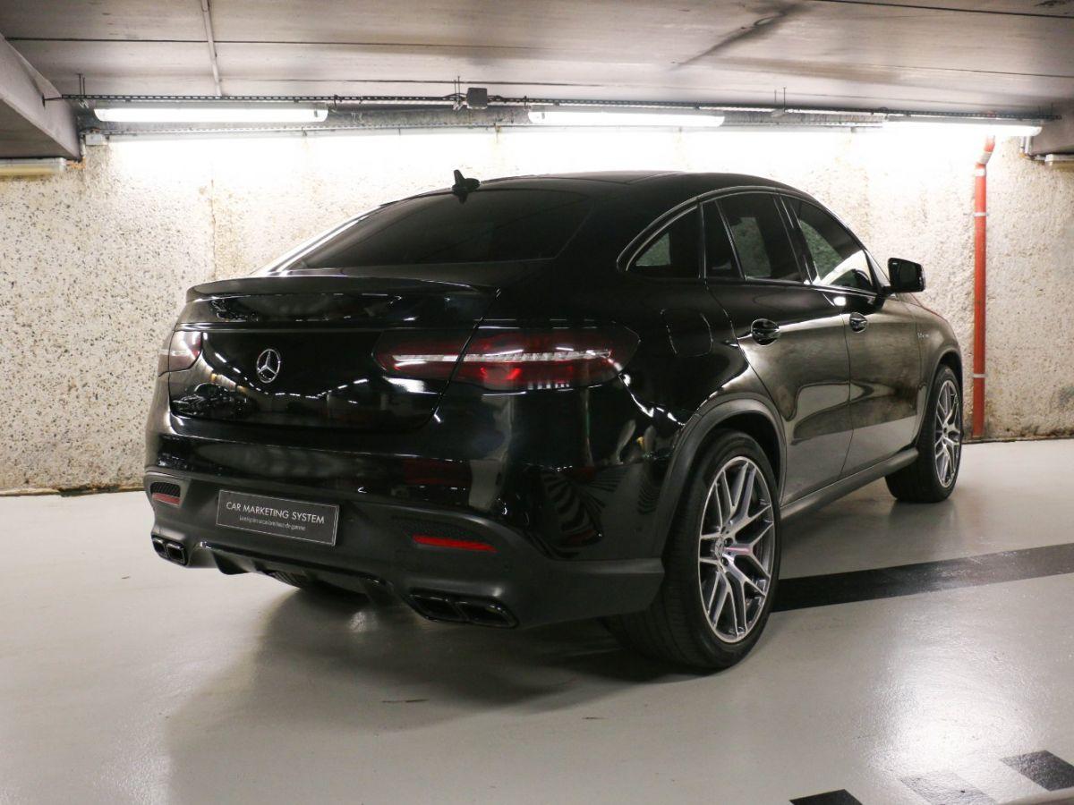 Mercedes GLE Coupé 63 AMG S 4MATIC Noir Métallisé - 14