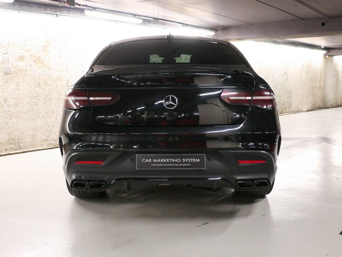 Mercedes GLE Coupé 63 AMG S 4MATIC Noir Métallisé - 15