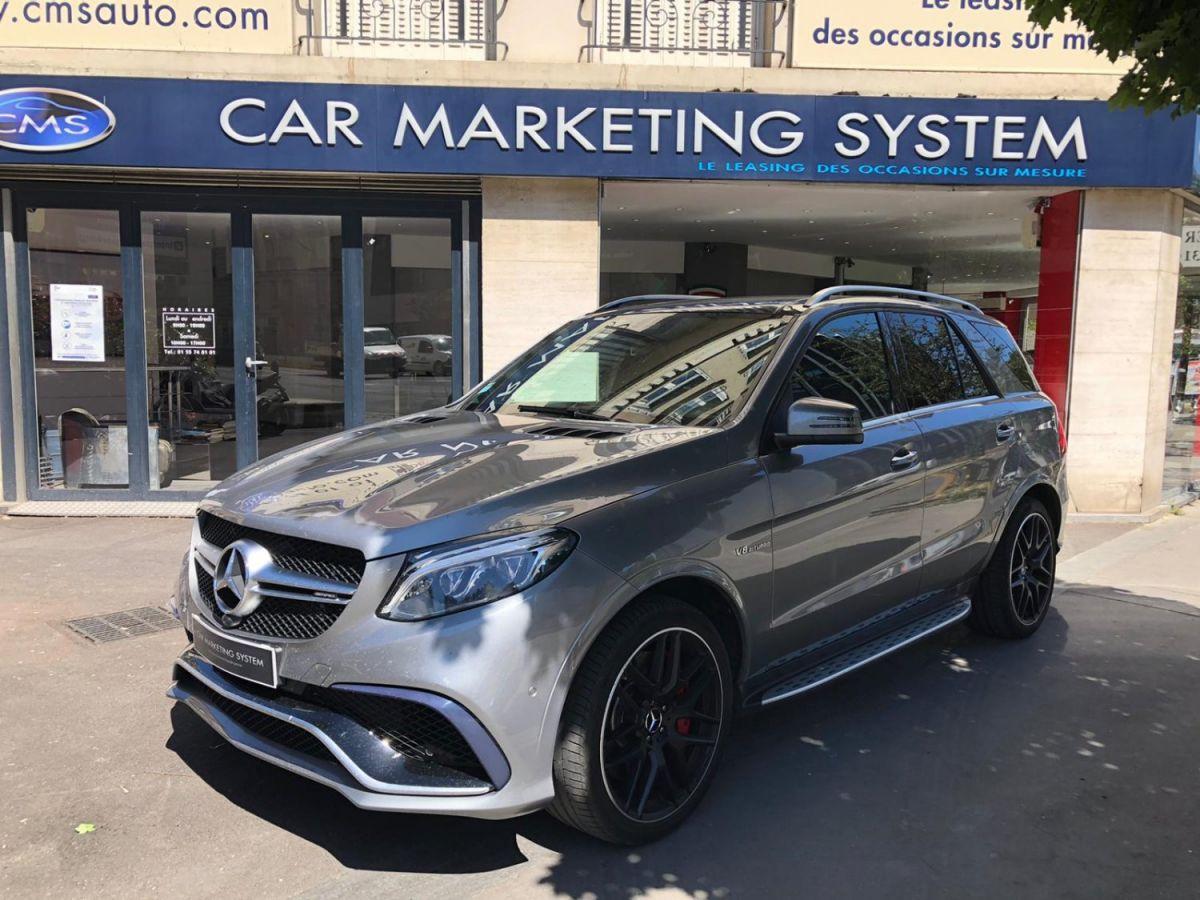 Mercedes GLE MERCEDES GLE 63 AMG S 4MATIC Gris Métallisé - 1