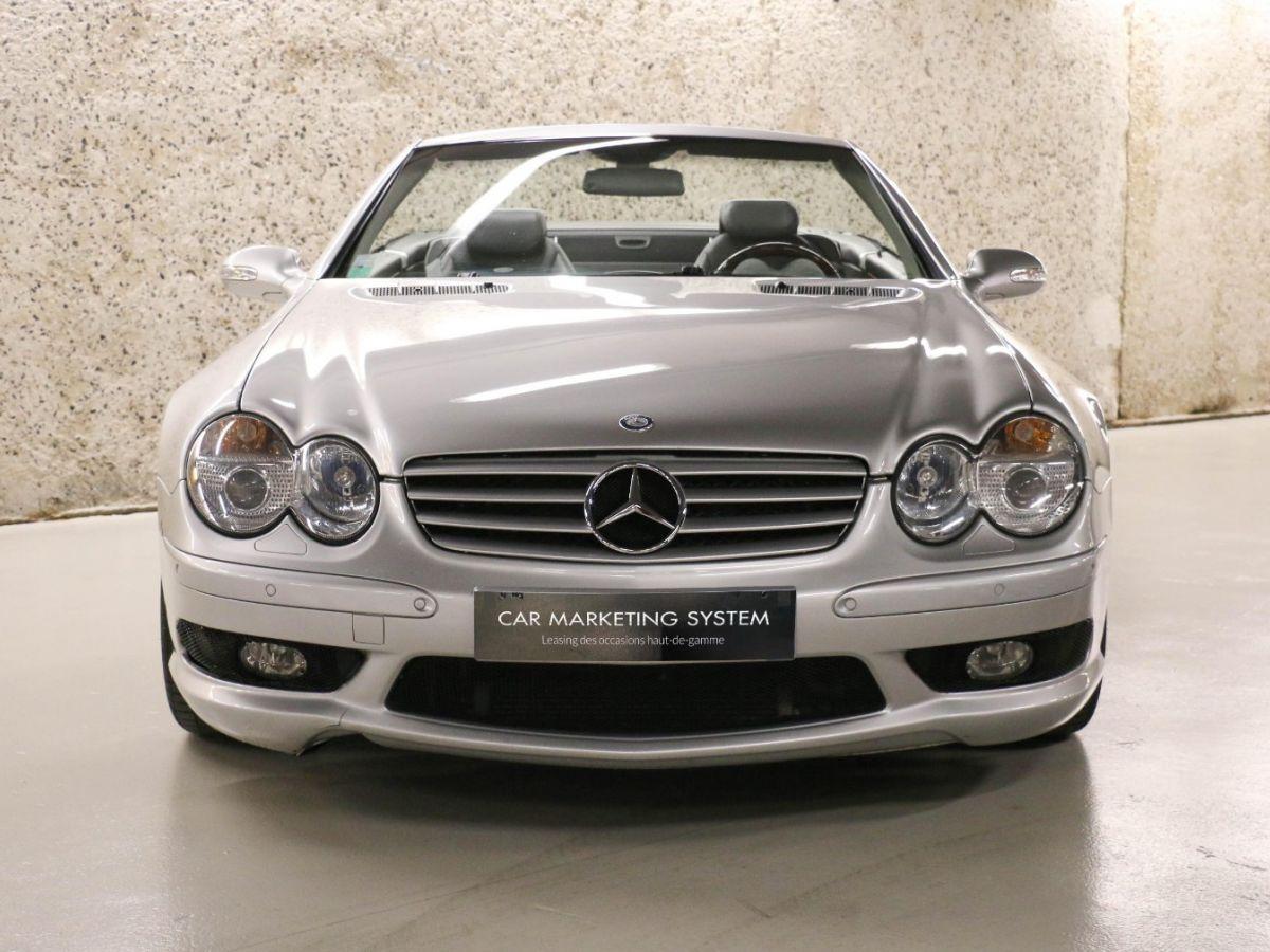 Mercedes SL II 55 AMG 500 BVA Gris Clair - 2