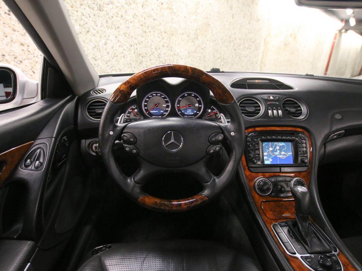 Mercedes SL II 55 AMG 500 BVA Gris Clair - 16
