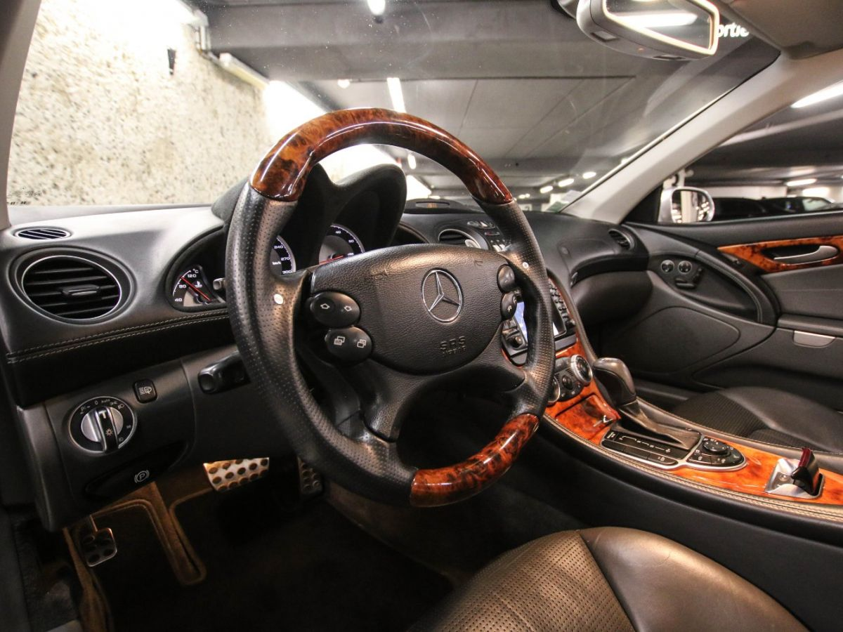 Mercedes SL II 55 AMG 500 BVA Gris Clair - 18