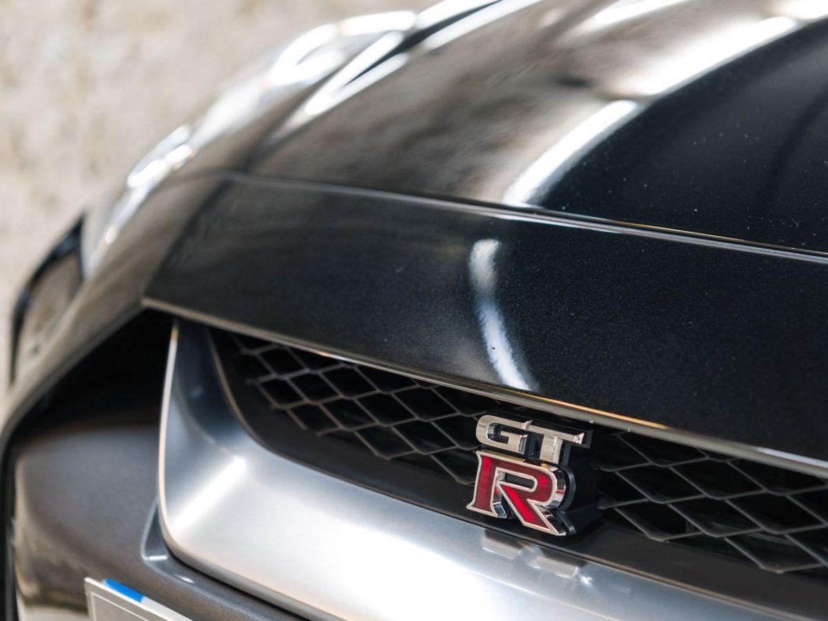Nissan GT-R NISSAN GT-R (2) 3.8 V6 570 BLACK EDITION 4WD Noir Métallisé - 6