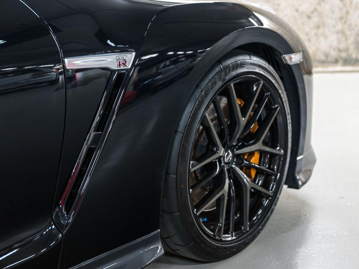 Nissan GT-R NISSAN GT-R (2) 3.8 V6 570 BLACK EDITION 4WD Noir Métallisé - 20